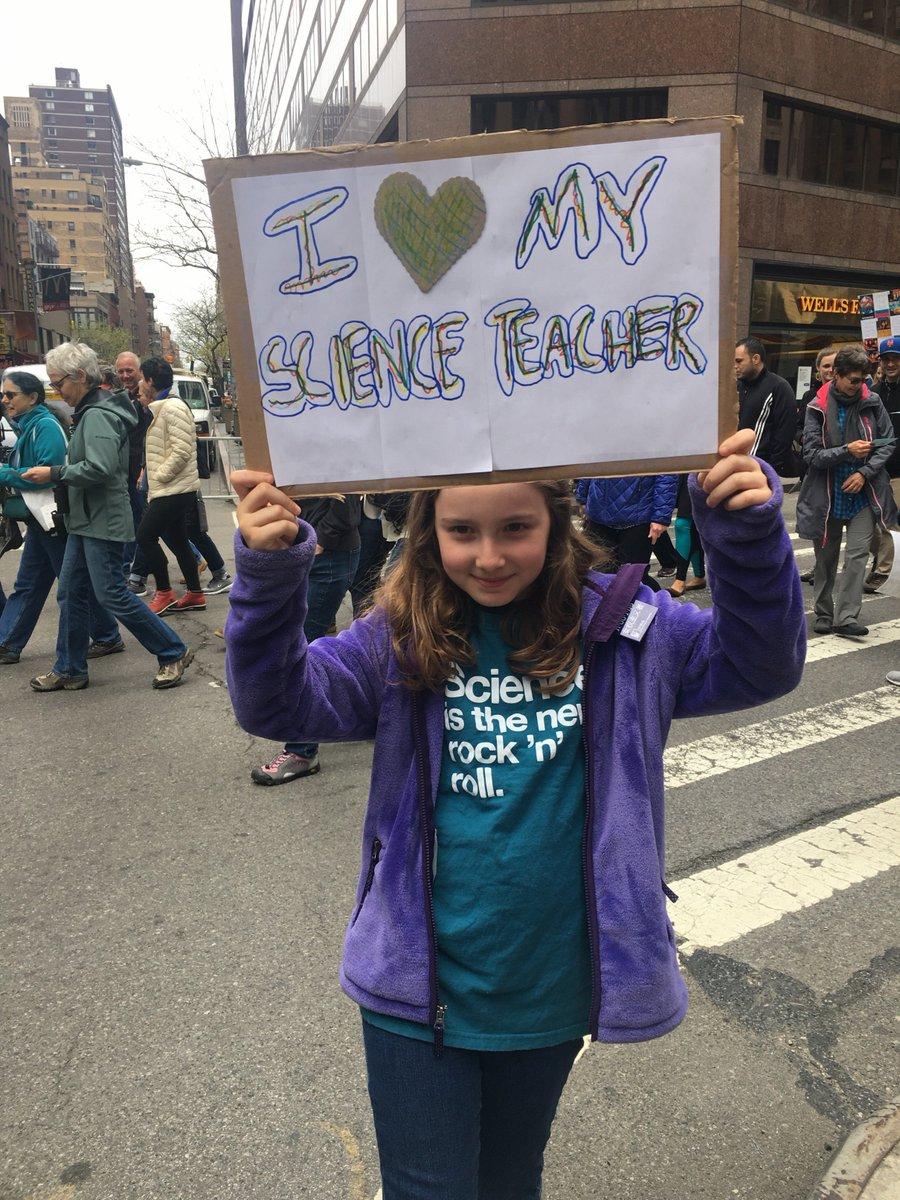 Appreciate your #scienceteacher. #marchforsciencedc #NSTA https://t.co/JlbilWjaCh