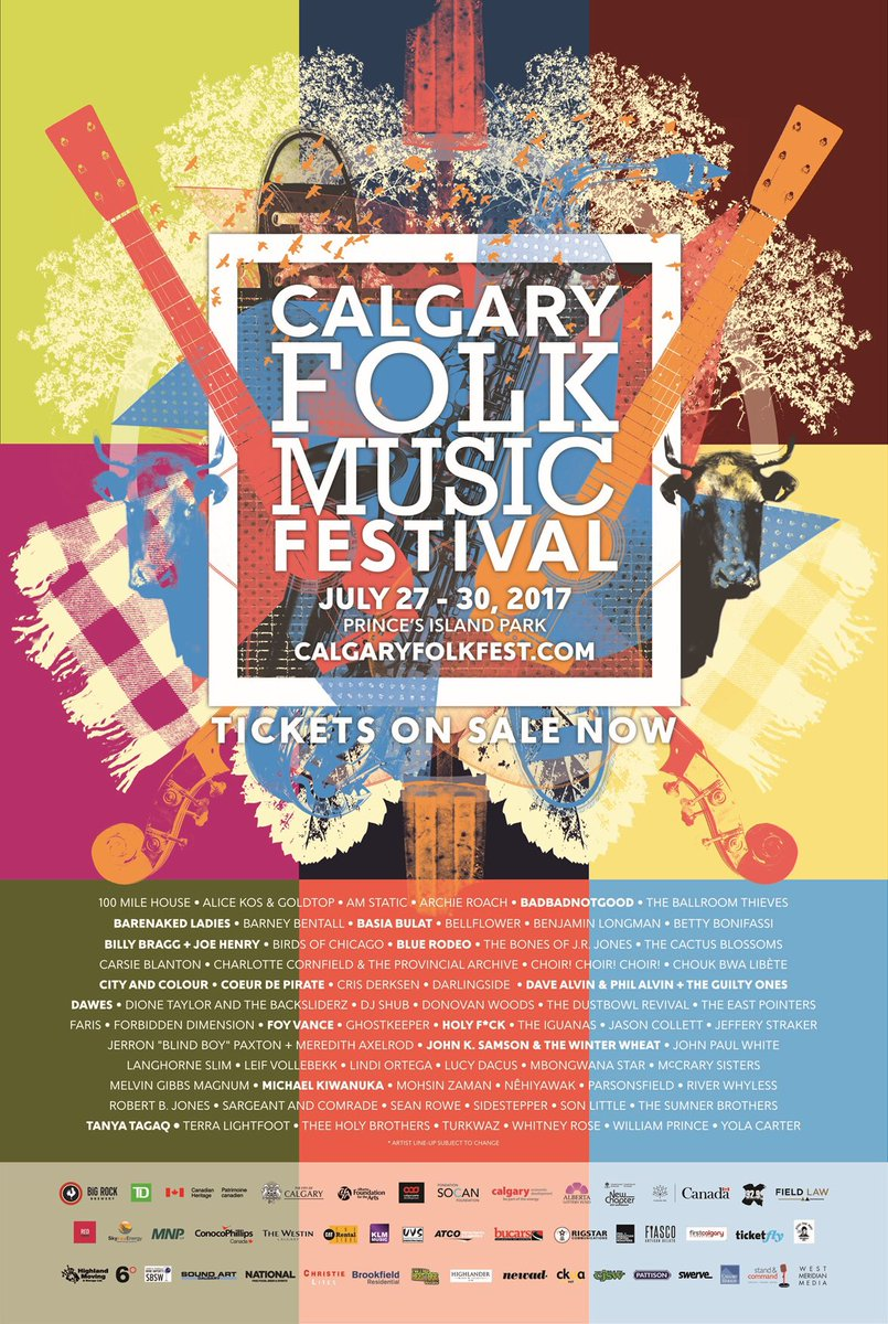 city and colour on twitter calgary heading your way in july for