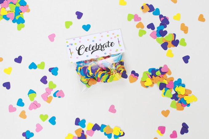 DIY Packaged Confetti
