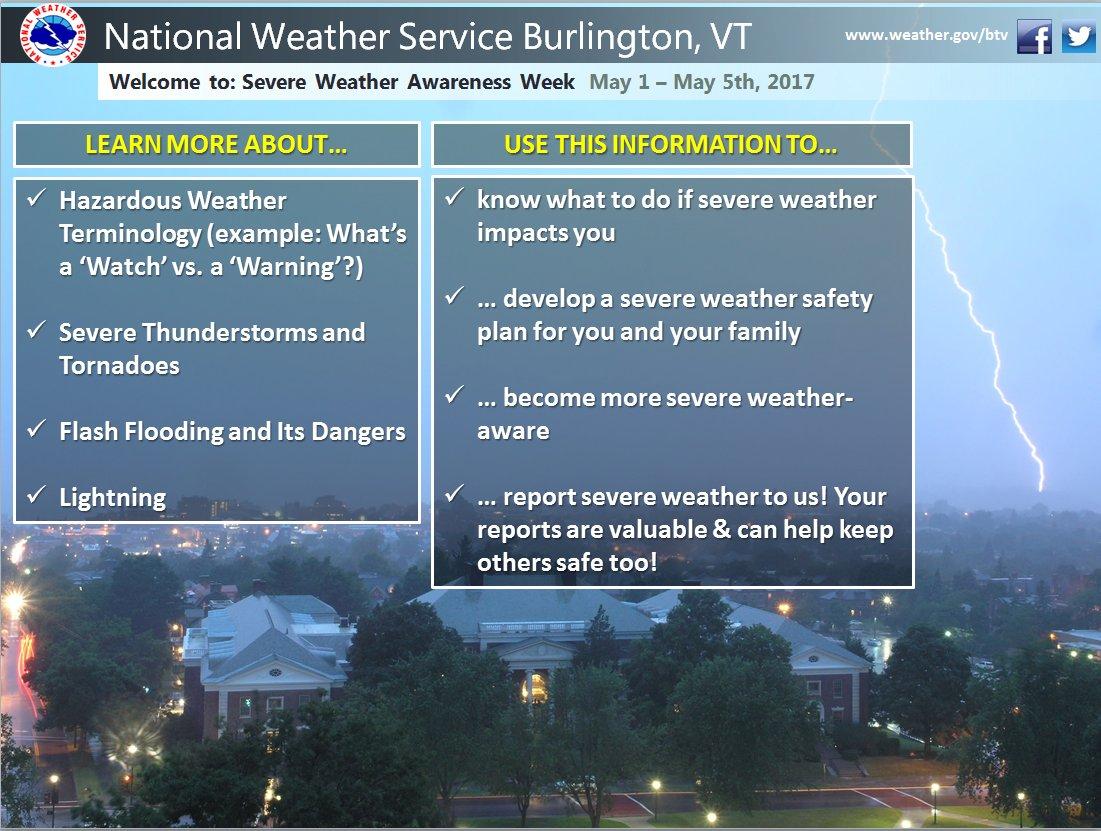 test Twitter Media - Welcome to Severe Weather Awareness Week! https://t.co/WHJd8jjhLO