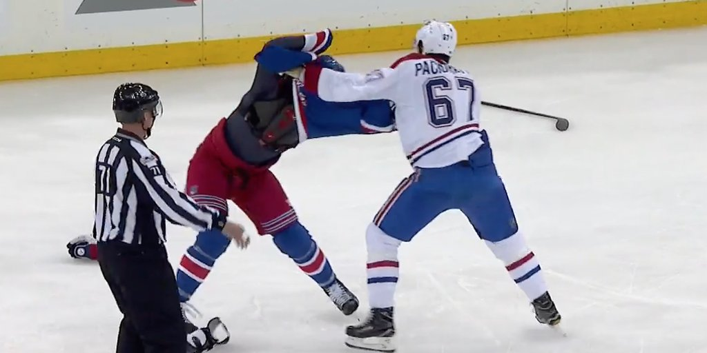 VIDEO: Max Pacioretty, Jimmy Vesey square off in unlikely Game 6 fight...