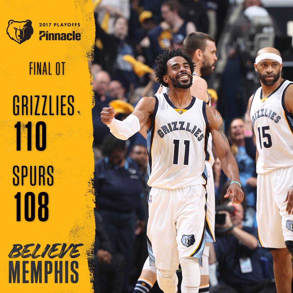 Spurs vs Grizzlies,Spurs被Marc Gasol絕殺!