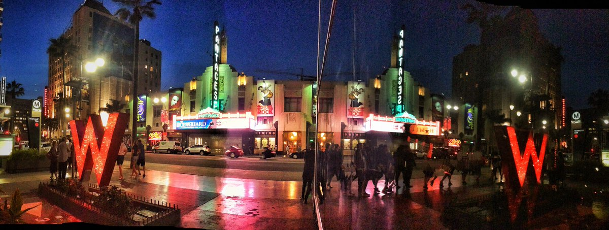 iconic #pantages.Lots #hollywood history here #losangeles full of suc bldgs.Sad 2 c filthy smelly streets&amp;sidewalks  #latimes #ktla #mayorLA<br>http://pic.twitter.com/Cqblg2RzQd
