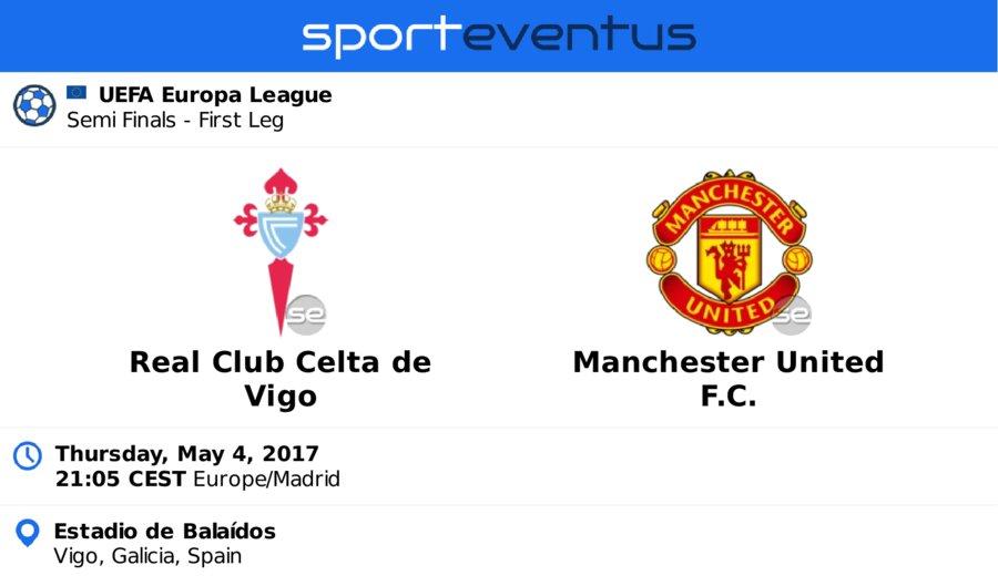 Get the best price on #tickets  #rccelta vs #MANUTD #EuropaLeague  Thursday, May 4th 21:05 CEST  #Balaídos  http:// link.sporteventus.com/evtw?event_id= 168081  … pic.twitter.com/oOvBOIwshm