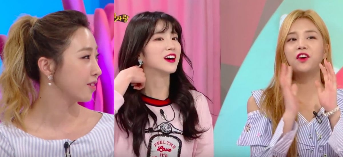 #GongMinzy Compliments #LABOUM For Doing Things That She Can't Do http...
