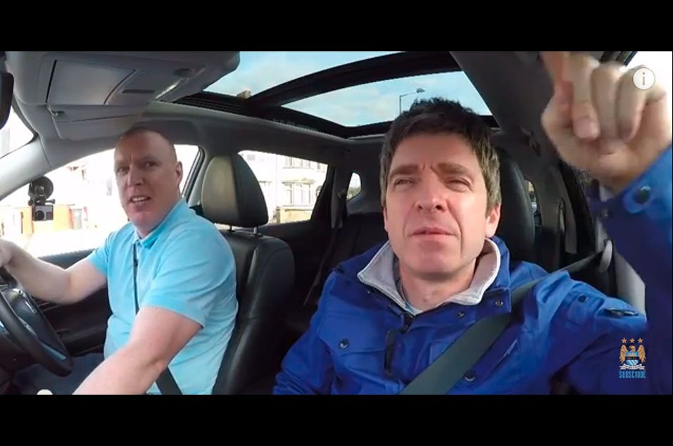 Noel Gallagher did his own version of Carpool Karaoke – and it was hil...