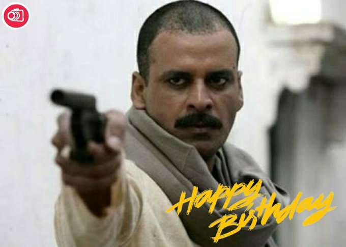 Happy Birthday Manoj Bajpayee!