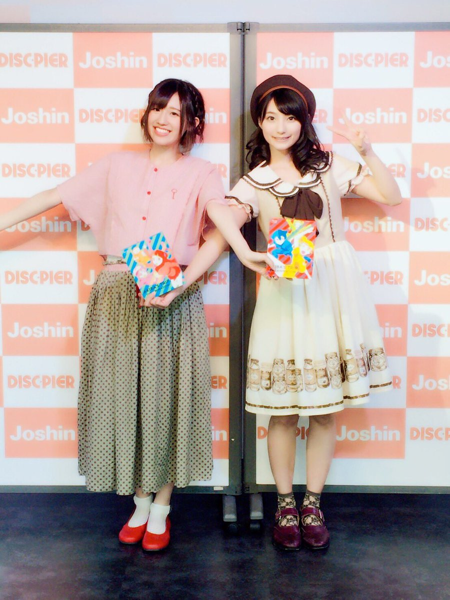 アキバニ発売記念イベント!ディスクピア日本橋店さんでたくさんお喋りさせていただきました!たかまりんか~~!! pic.twitter.com/P9zqPyh5Rh