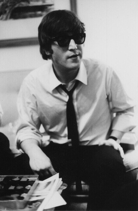 Riley On Twitter John Lennon 1964 He S So Cute Beatleskitten Beatlesarc Thebeatlesfanec Toursbeatles Ringostarrx Rstarrkeyy Johnlennon109 Https T Co Osnqsnwcvr
