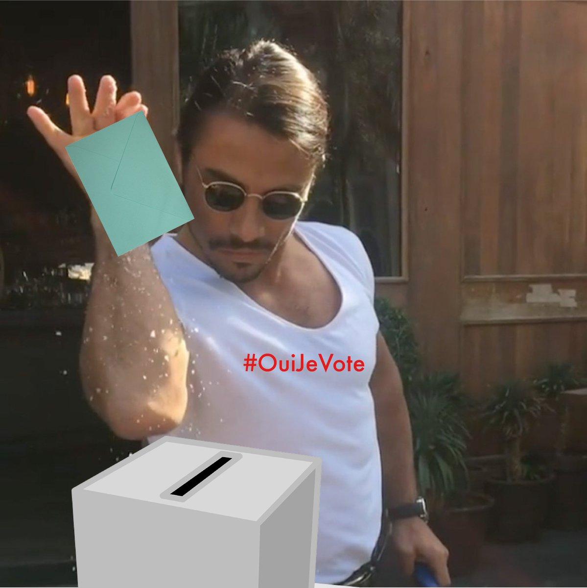 C'est le jour J ! Vous avez jusqu'à 19h ou 20h selon les villes pour aller voter #VoteChallenge #ElectionPresidentielle2017