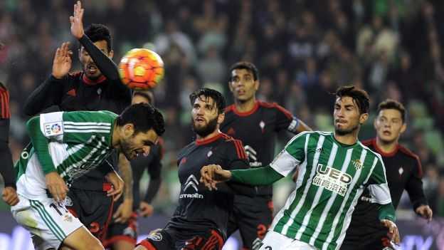 #RealBetis will visit #CeltaVigo in round 33 of #LaLiga  on Balaidos Stadium We predict a 1-1 draw More tips  http:// bit.ly/2pBYRAI  &nbsp;  <br>http://pic.twitter.com/PKWba2jbhp