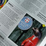 You're famous @therescueotter. The current Mountain Rescue mag. @moorotters #moorotters #rescueotter #dsrtashburton