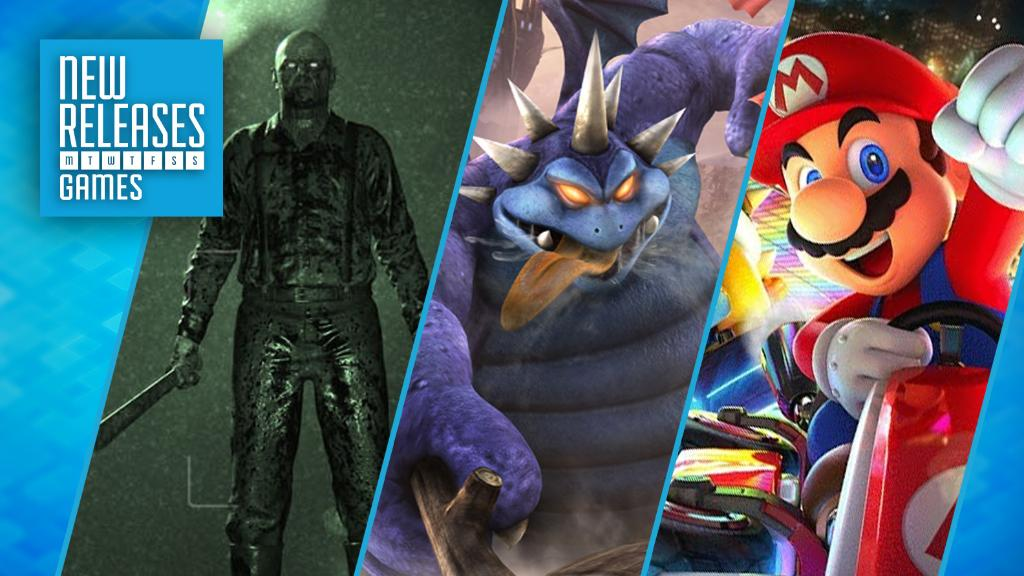 New Releases: Outlast 2, Dragon Quest Heroes II, and Mario Kart 8 Delu...