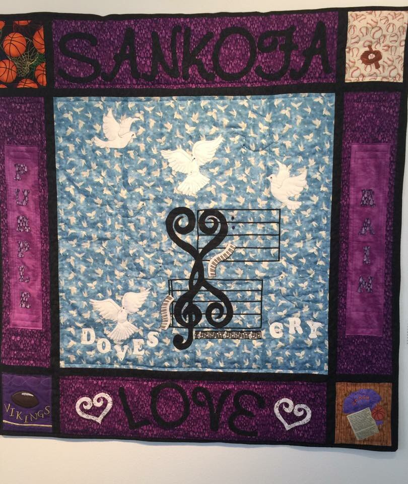 #Prince quilts from the Textile Center here in MPLS. 💜💜💜