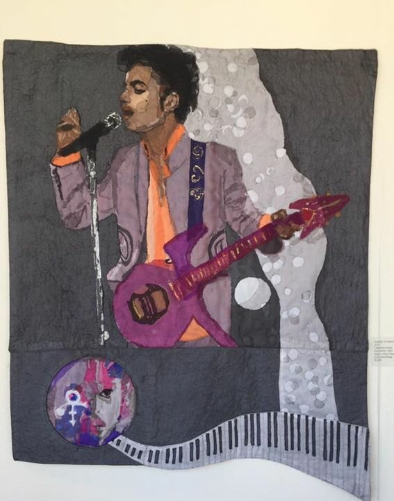 #Prince quilt from the Textile Center here in MPLS. 💜💜💜
