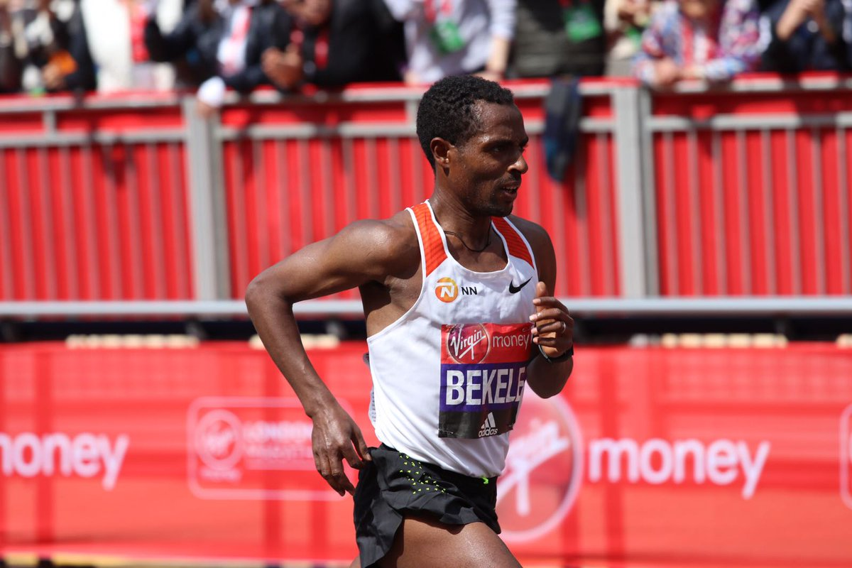 Kenenisa Bekele finished strong to place second in @LondonMarathon #nnrunningteam https://t.co/MtOOLZKAm2