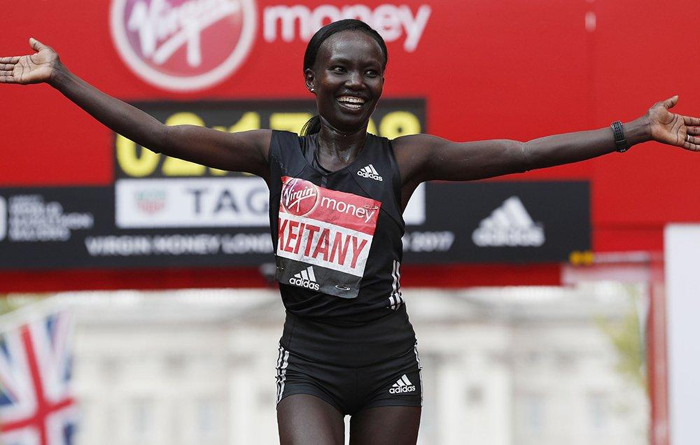 BREAKING: Mary Keitany sets women's-only world record in London. https://t.co/AY1g9JVVsS https://t.co/4jP4X3JjO0