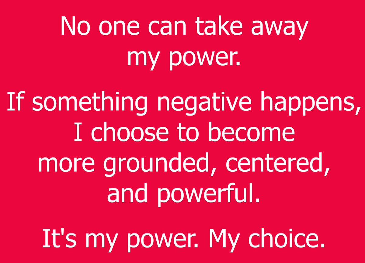 No one can take away my power. #ThinkBIGSundayWithMarsha #claimingit #nolimits #manifestation #masteryourthoughts #grounded #powerful <br>http://pic.twitter.com/A1XjTHL3jw