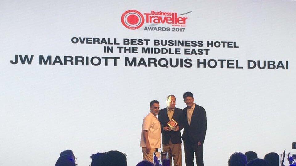 Αποτέλεσμα εικόνας για JW Marriott Marquis Dubai receives 7 awards