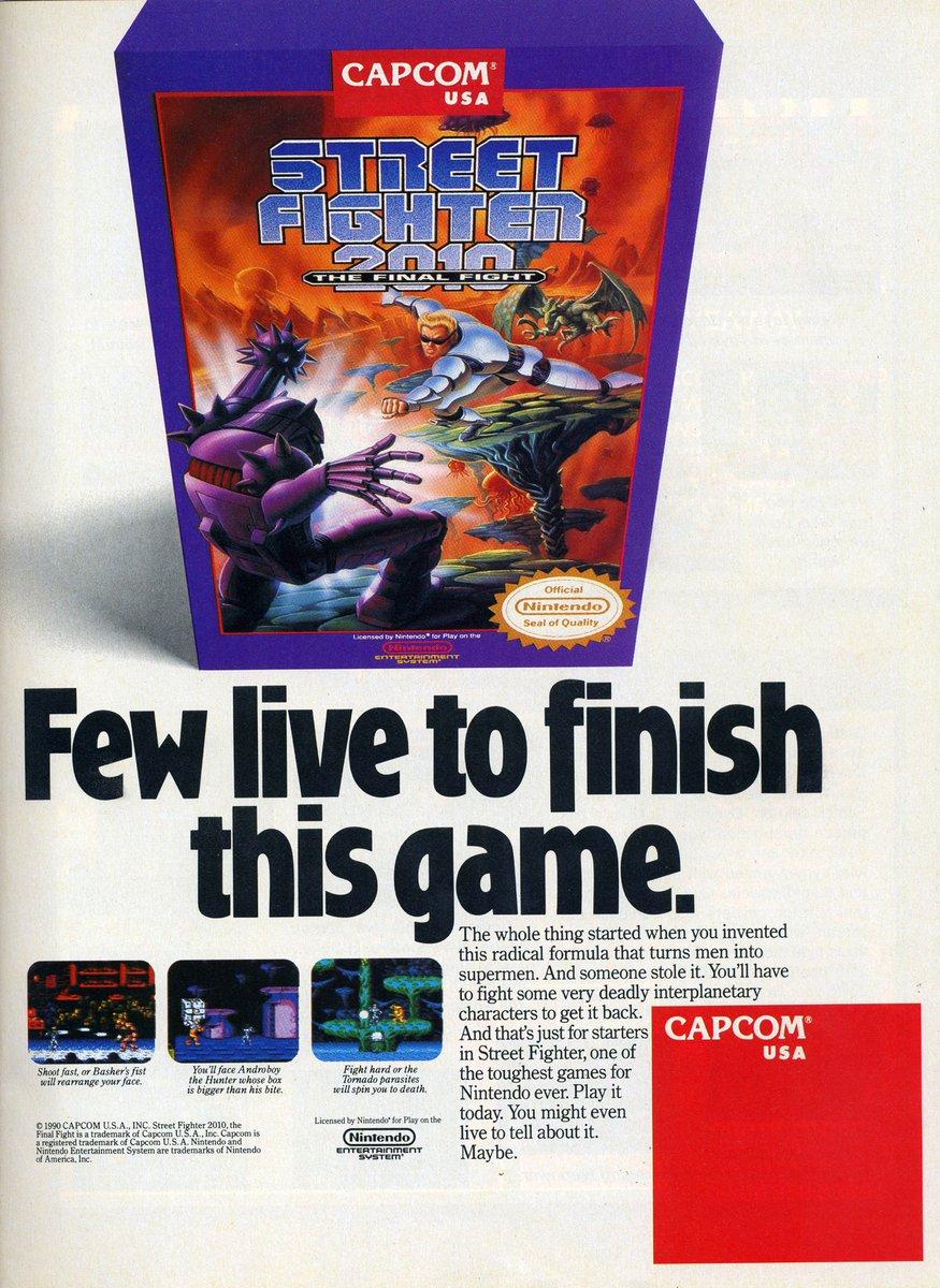 Videogameart Tidbits On Twitter Street Fighter 2010 The Final