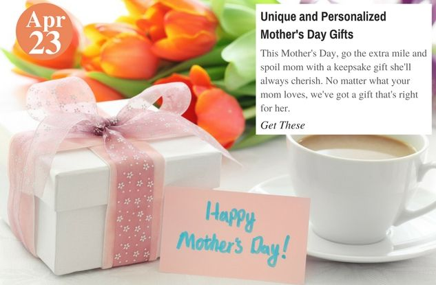 #Gifts for Mom Unique and Personalized Mother&#39;s Day #Gifts:  http:// buff.ly/2pOaN2D  &nbsp;    #teelieturner #gift #MothersDay #mom #beaucoup <br>http://pic.twitter.com/iYicrYQwML