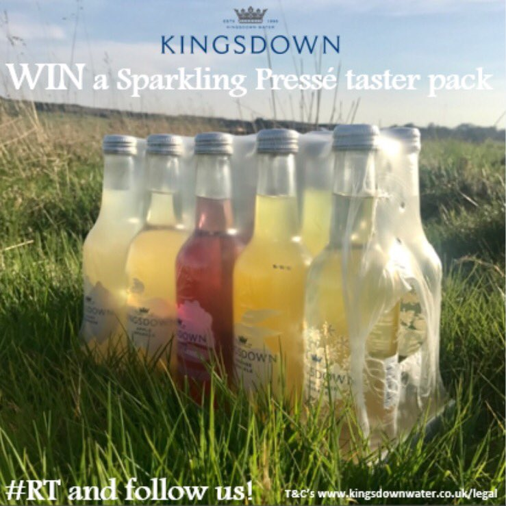 *WIN* Our Spring #Competition simply Follow &amp; #rt for a chance to #win a @kingsdownwater pressés taster pack! Ends 5pm 23/04/17 #giveaway<br>http://pic.twitter.com/3vO6vI66ix