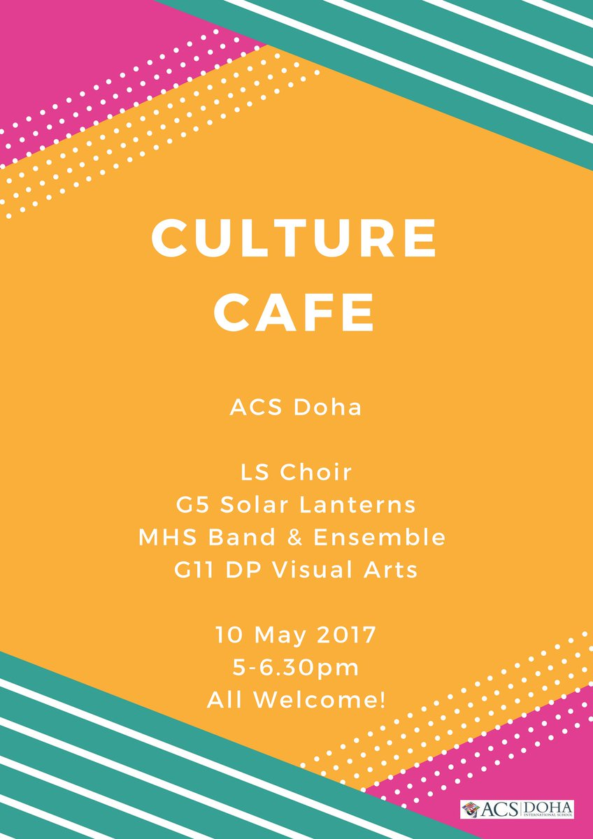 "acs schools on twitter: ""rt @claudiadmusic: 10 may culture cafe"