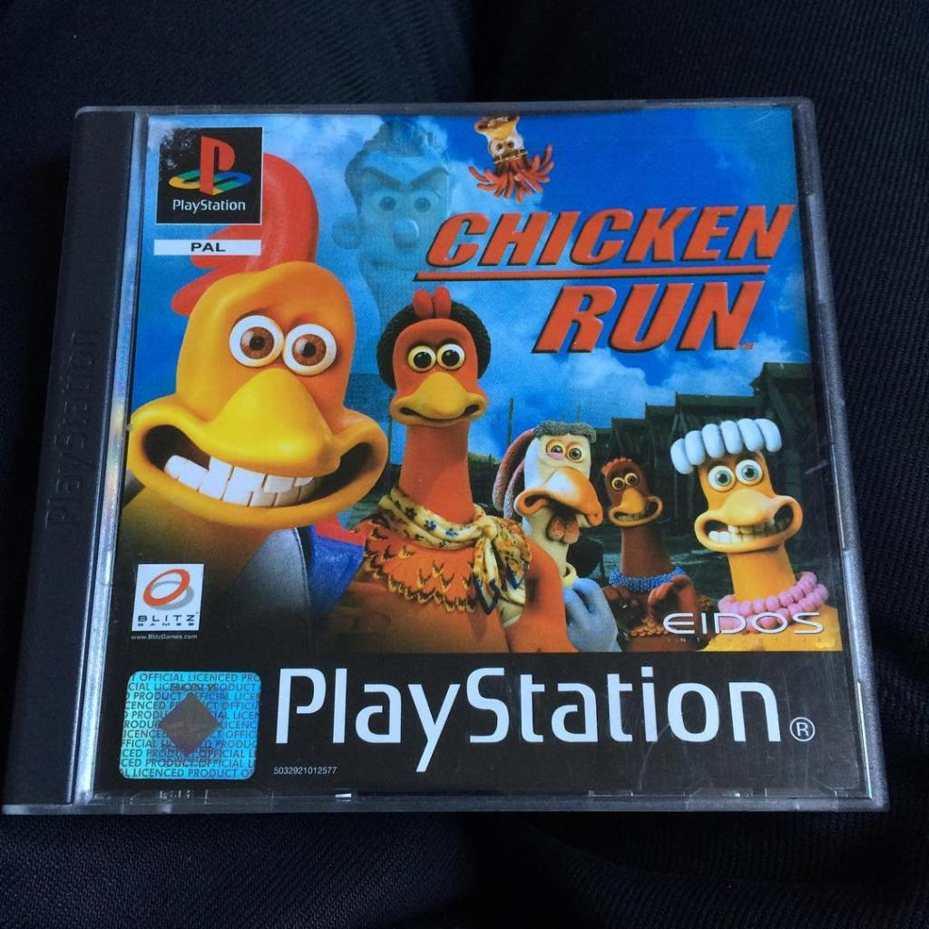 chicken run ps1