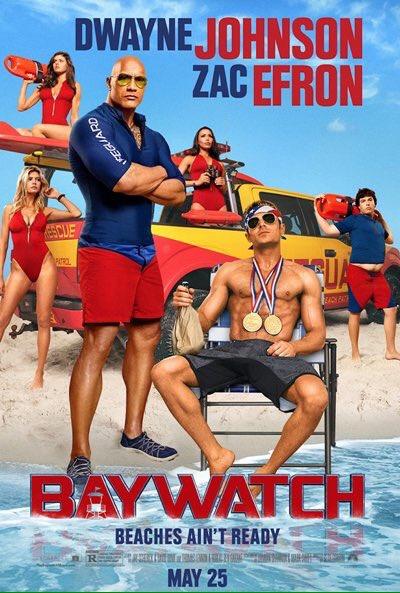 #Baywatch #Losvigilantesdelaplaya Nuevos póster,  preparados para dar el salto a la gran pantalla