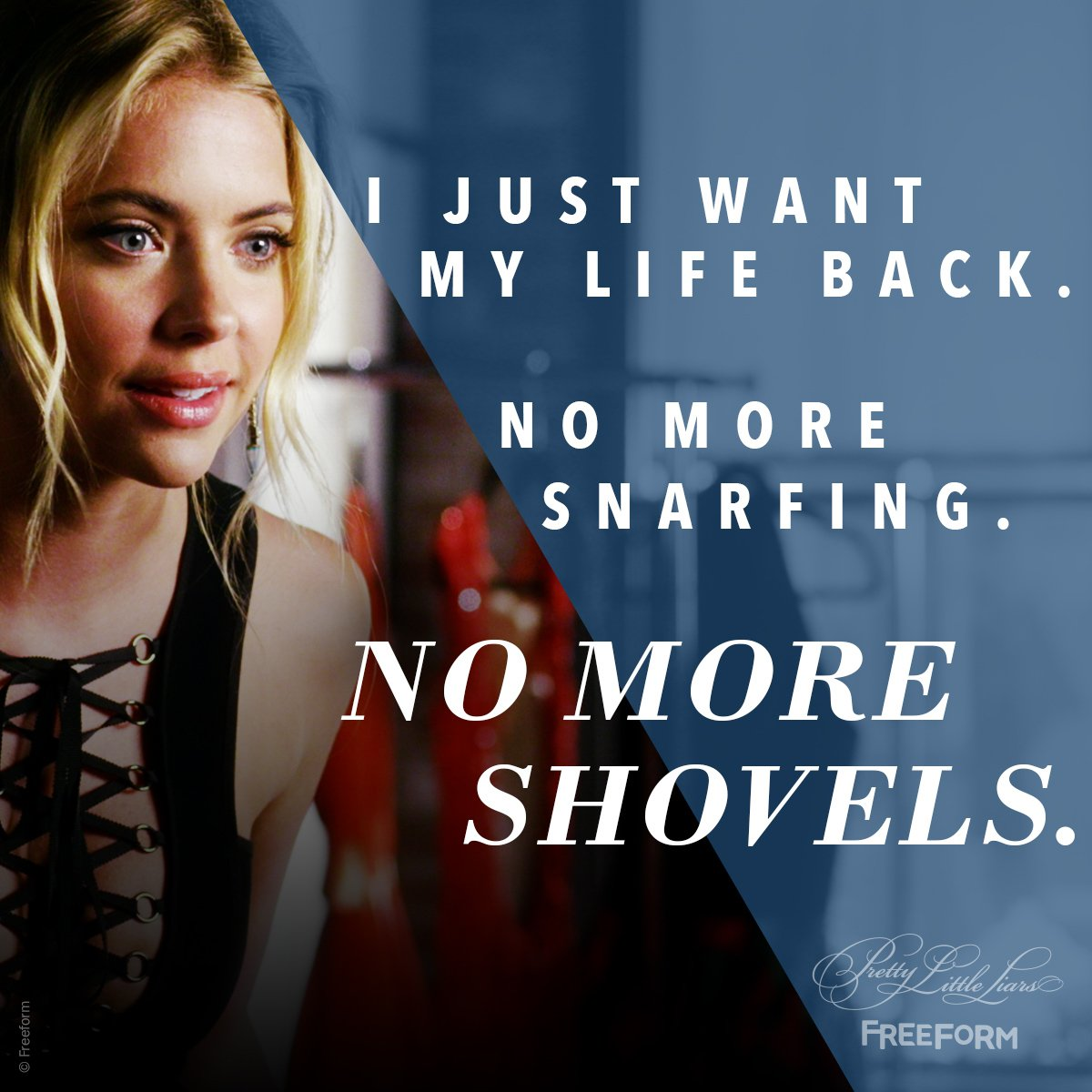 The life before A, right? #PrettyLittleLiars https://t.co/rZemIs1act