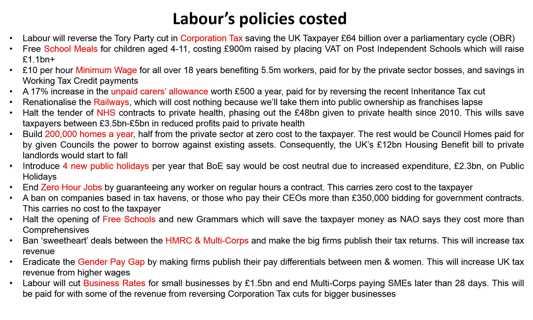labours anti business manifesto costings - HD 2048×1230