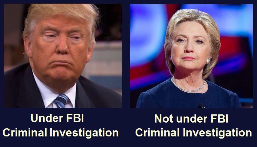 #GopHypocrisy is running rampant! No one under investigation should be #President! #GOPmustGo #UniteBlue #TheResistance #AMjoy #FlipBlue<br>http://pic.twitter.com/bpFCX3b265