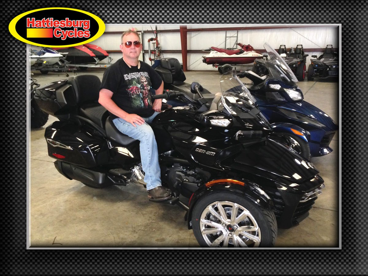 Thanks to Don Chrysler from Ocean Springs MS for getting a 2017 Can-Am Spyder F3 Limited at Hattiesburg Cycles #canam <br>http://pic.twitter.com/nBdawtLBS8