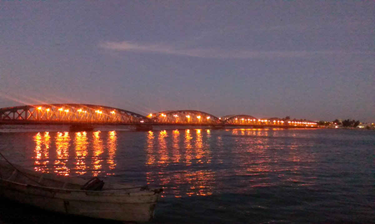 Welcome to Saint-Louis, #Senegal, the #FaidherbeBridge #HereAndNow #SaintLouisJazz<br>http://pic.twitter.com/Xk7tY7B5M9