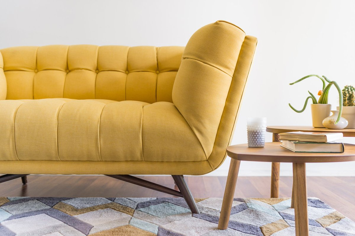 Joybird Furniture On Twitter Deep Tufting Crossbeam Legs And An