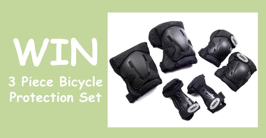 #WIN a 3 piece bicycle protection set! F + RT to enter. #SundayFunday #Competition #Giveaway #Comp T&amp;Cs  http:// ow.ly/d/6cWJ  &nbsp;  <br>http://pic.twitter.com/z9D9I3hdjd