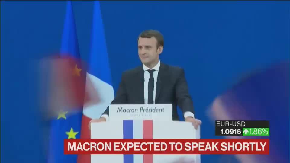 WATCH LIVE: Emmanuel Macron addresses supporters  https:// bloom.bg/2pqTNlM  &nbsp;   #Presidentielle2017  https:// bloom.bg/2pqNFKC  &nbsp;  <br>http://pic.twitter.com/qaafqsl0a5
