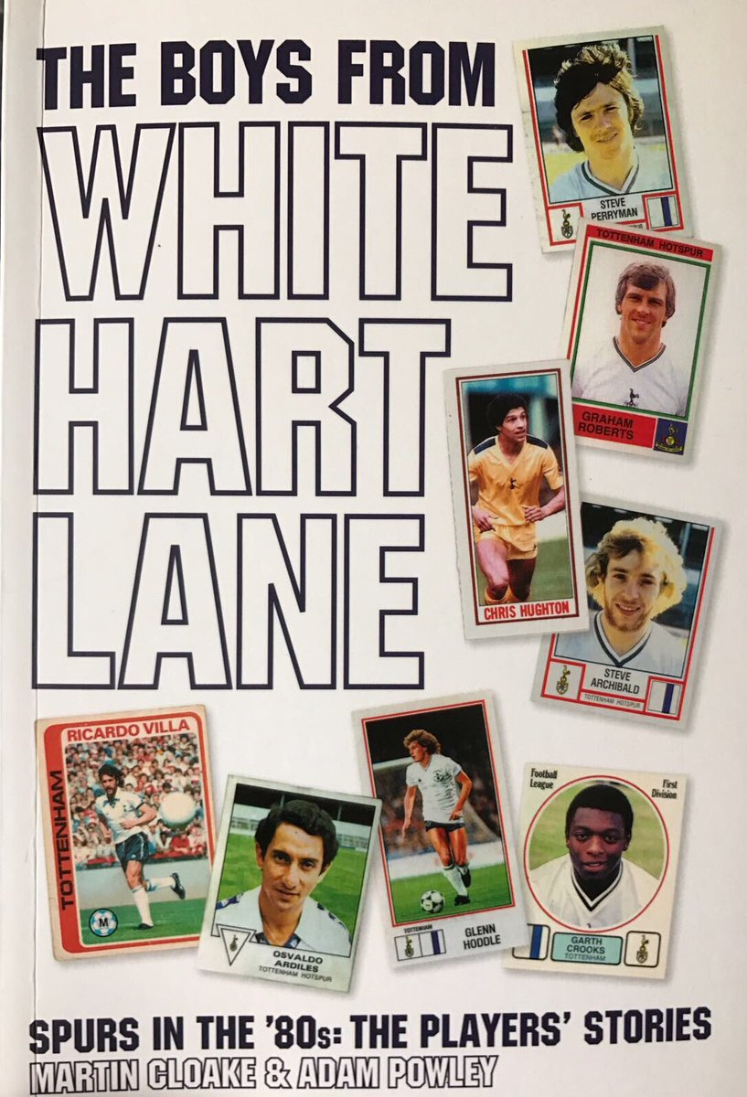 For chance to win signed copy of The Boys From White Hart Lane book RT &amp; FOLLOW us &amp; our publishers @SportsVsp #giveaway #competition <br>http://pic.twitter.com/BaOByFzuQc