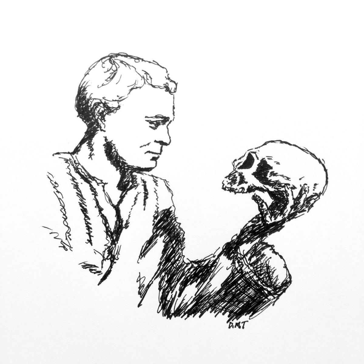 его картинки гамлета с черепом ведь