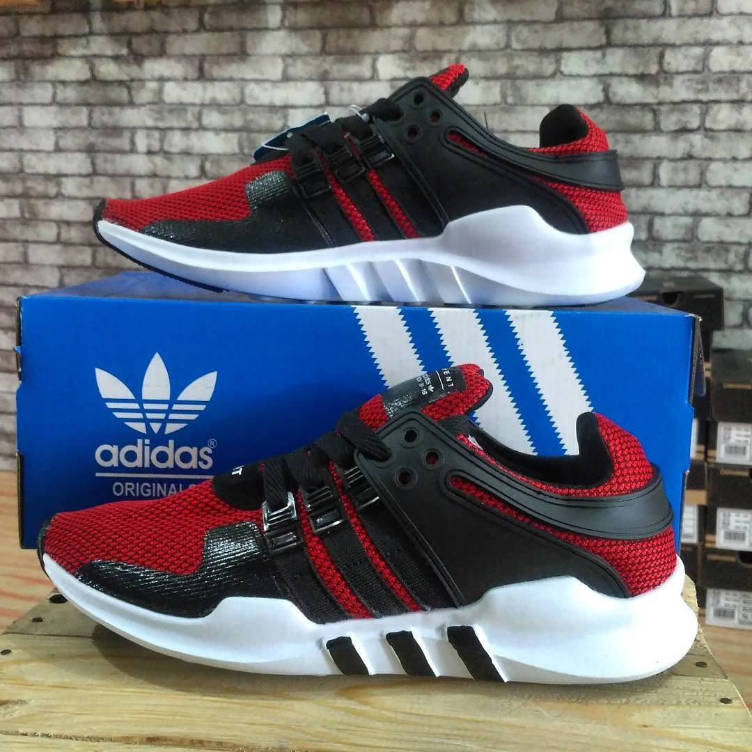 new style 6b94e c471b ... best price sepatu adidas eqt black red ukuran 36 37 38 39 40 43 44 45