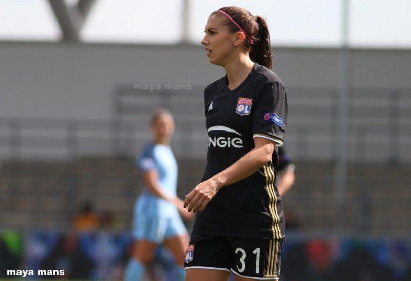 First Champions League semifinal | 55 minutes of action | involved in the buildup of the go-ahead goal #alexmorgan #teamOL // PC: maya mans<br>http://pic.twitter.com/mdPypf0rWg