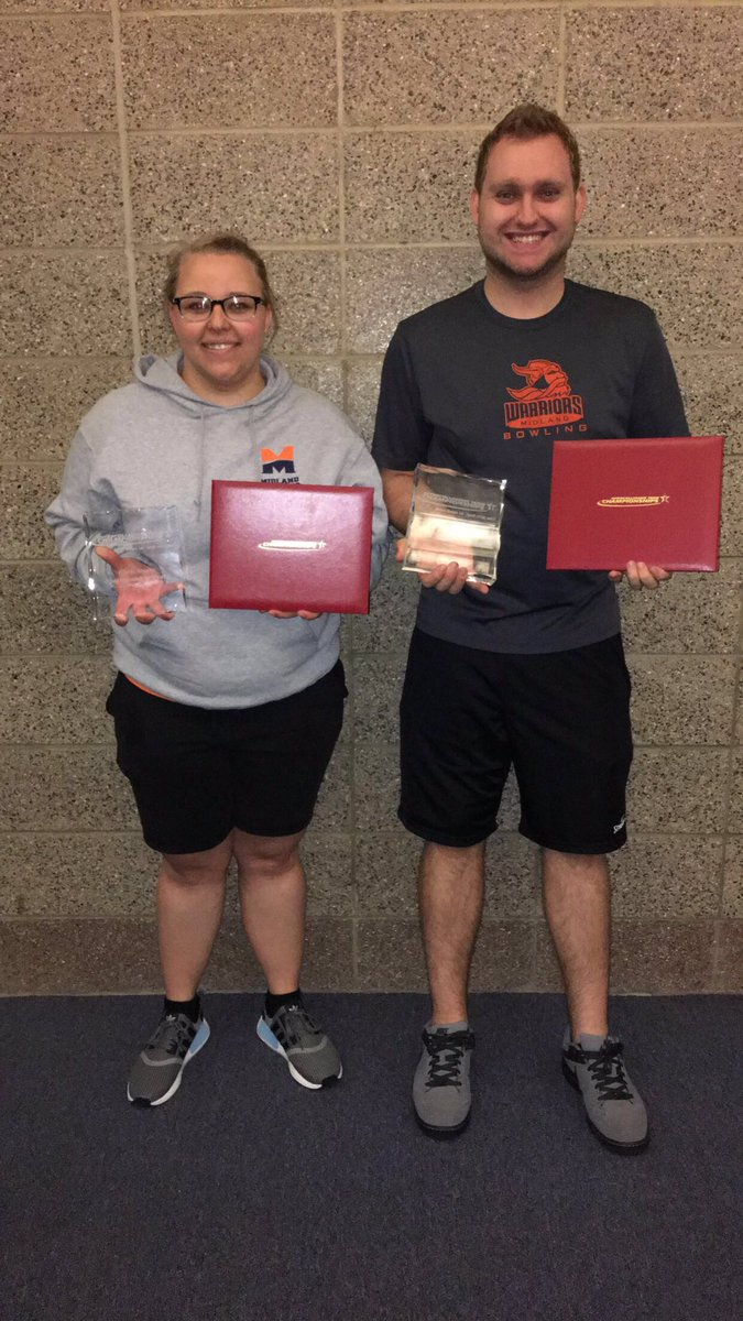 @Midland_Sports Haley Hall and Nick Pate win sportsmanship award and make all tournament team for ITC. Hall also named tournament MVP! #MU <br>http://pic.twitter.com/zK3tOBr4D0