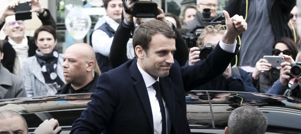 [URGENT] La pole position irait à Emmanuel Macron, Marine Le Pen accrochée pour la seconde place https://t.co/0nTKKCbPkO #Presidentielle2017