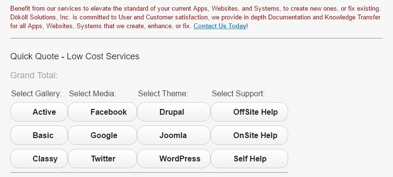 #JSON #Ajax #PHP: Now @ Curr #jQuery #HTML5 Consultation page, sections include #Drupal #WordPress #Joomla- Play around with Calculator App-<br>http://pic.twitter.com/n5b4Pzy2AI