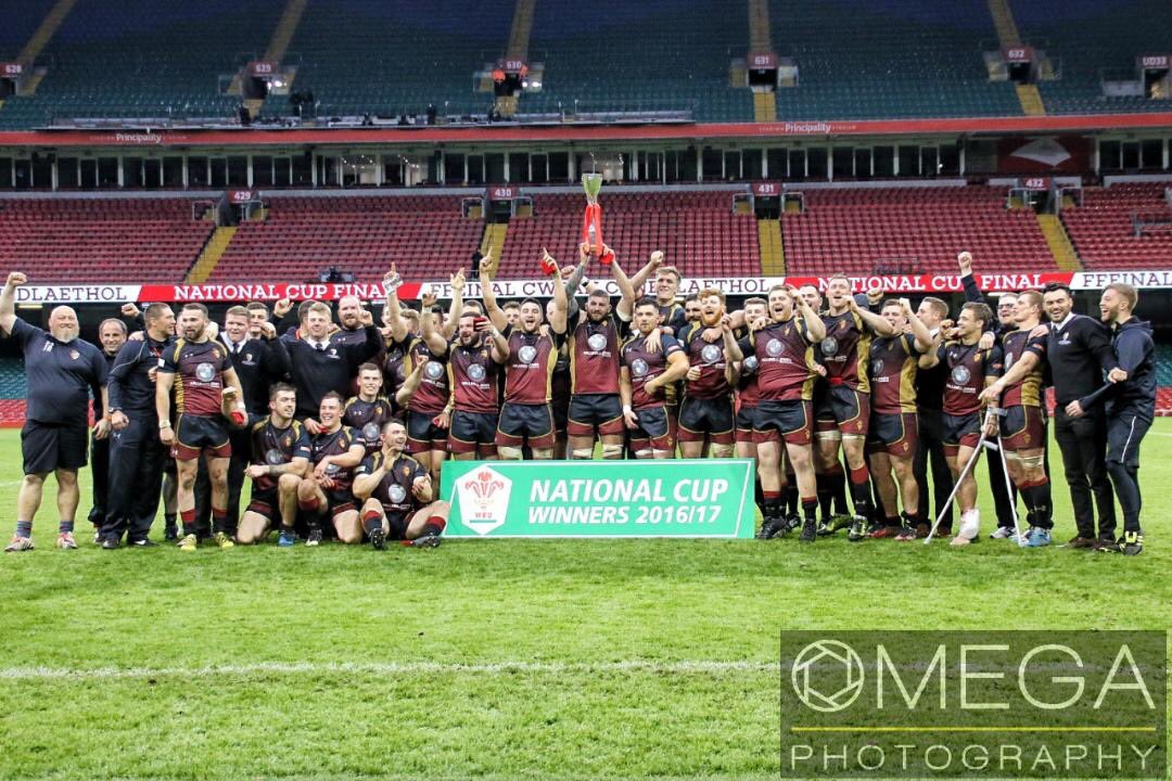 Can&#39;t believe how fast a week has gone! What a proud day to be part of @RGCNews @THEHANDOFOMEGA @WelshRugbyUnion #WelshCup #champions <br>http://pic.twitter.com/d0VdGQANDi