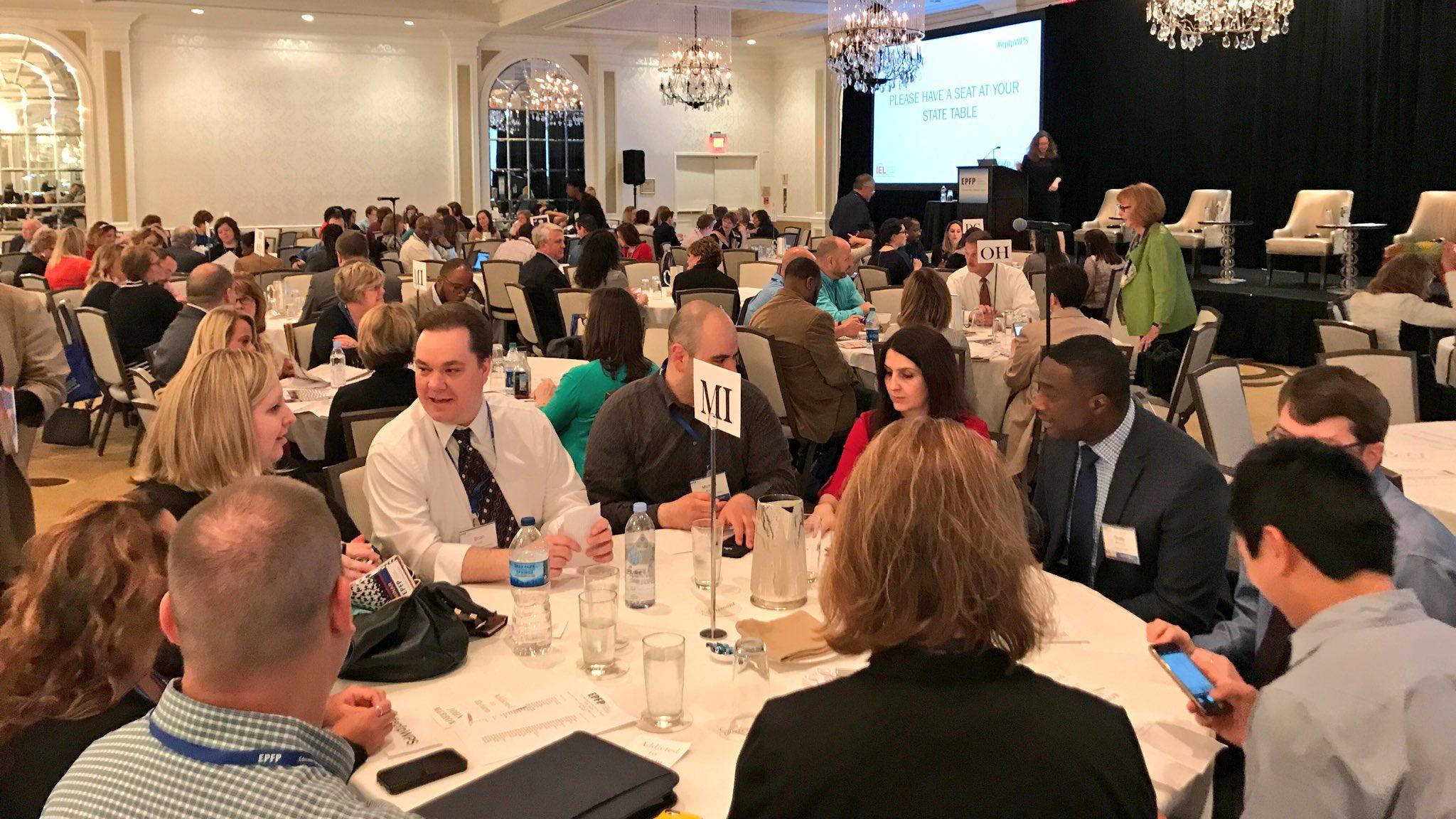 Getting started at Washington Policy Seminar w 16 states inc. MA @epfp_iel #epfpwps https://t.co/bP7RE9EQ5N