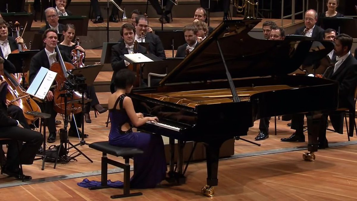 When #ClassicalMusic meets #jazz! Discover #YujaWang&#39;s incredible performance of #Mozart Alla turca  http:// buff.ly/2pIWQW9  &nbsp;  <br>http://pic.twitter.com/DX5Tq7LU9T