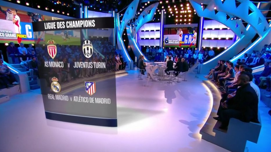 Récapitulatif des 1/2 finales @ChampionsLeague #TirageLdC  #CFCpic.twitter.com/zGwJukHpcC