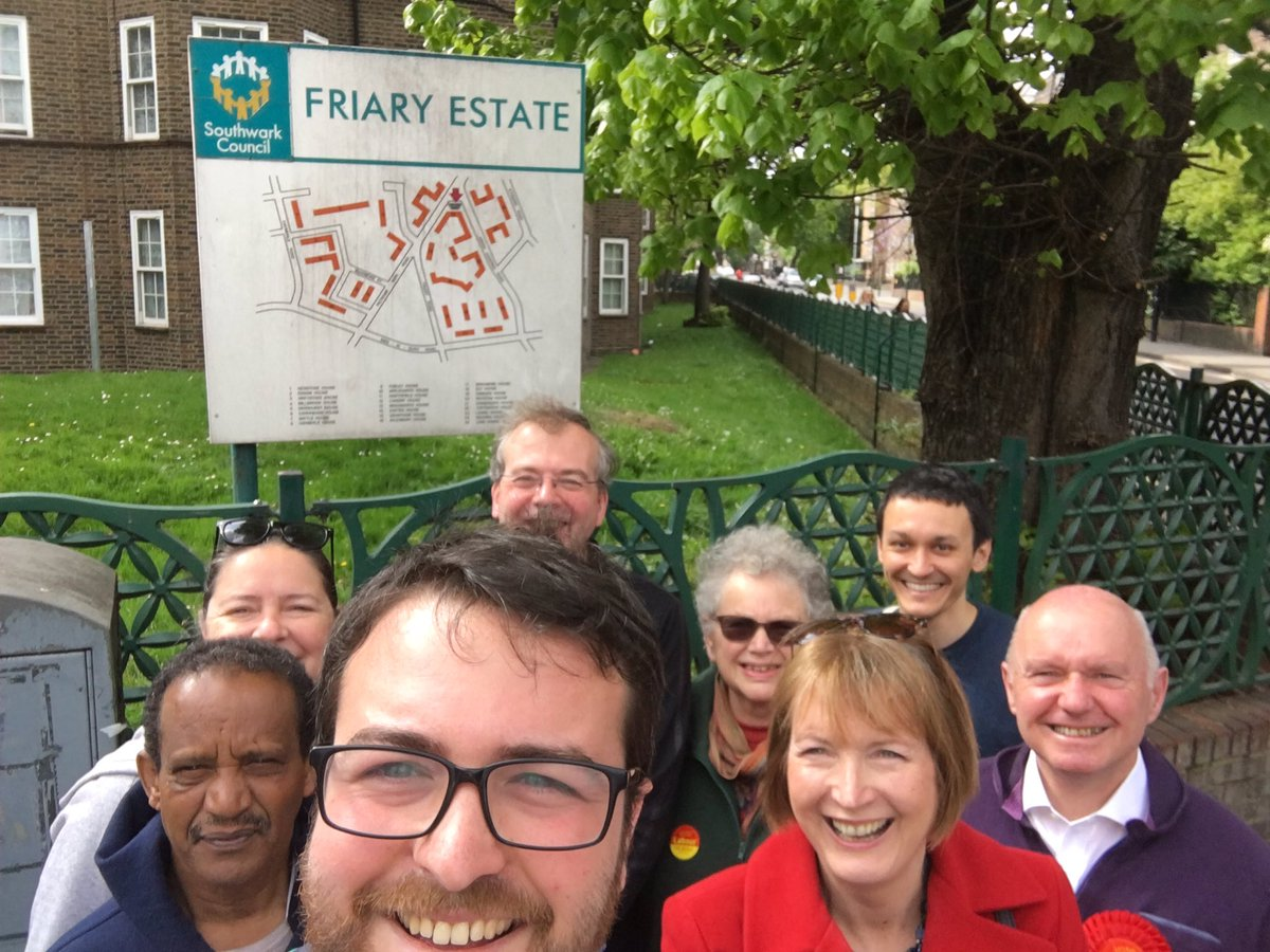 Out on the Friary Estate with @livesey_labour & @Livingstone_RJ gr...