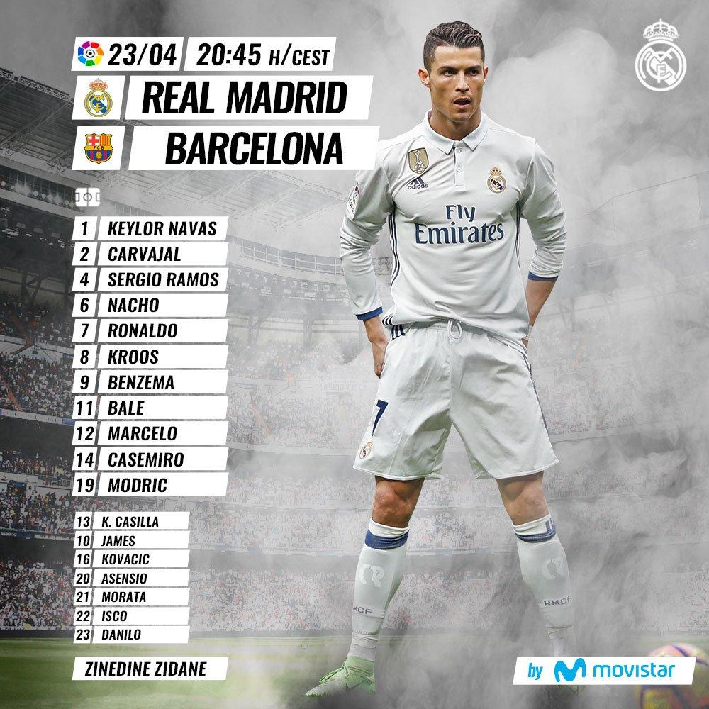 Real Madrid vs Barcelona  C-HVXYzXsAEkmf1